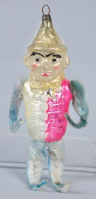 Christmas Collectibles Price Guide: Eddie Cantor Glass Christmas Ornament