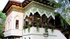 Join buildyful.com - the global place for architecture students.~~Neo-romanian style in architecture, The Buffet form Kiseleff Boulevard (1882-1892, arch. Ion Mincu), Bucharest, Romania