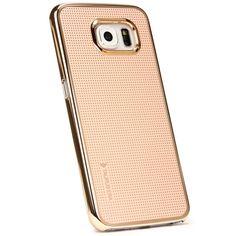Samsung Galaxy S6 Original UrCover® Taurusera Backcase Schutz Hülle Case Cover Schale Schutzhülle [DEUTSCHER FACHHANDEL] Variante 6 Champagner Gold 14,90€