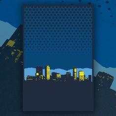 "Screen Printed Denver Skyline Poster • 3 colors • 12""x18"""