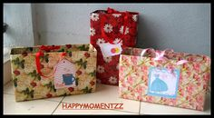 HappyMomentzz crafting by Sharada Dilip: Gifting Bags for every reason:)