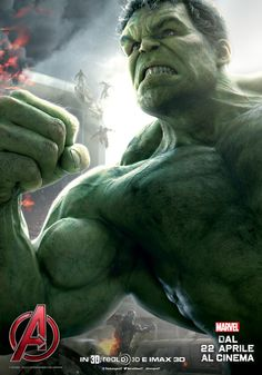 Avengers – Age of Ultron: Il character poster di Hulk