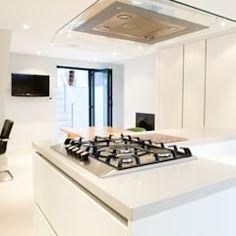 Kitchen - Detail Nowoczesna kuchnia od Absolute Project Management Nowoczesny Kitchen Interior, Kitchen Design, Project Management, Cool Kitchens, The Help, Layout, Mirror, Projects, Interiors