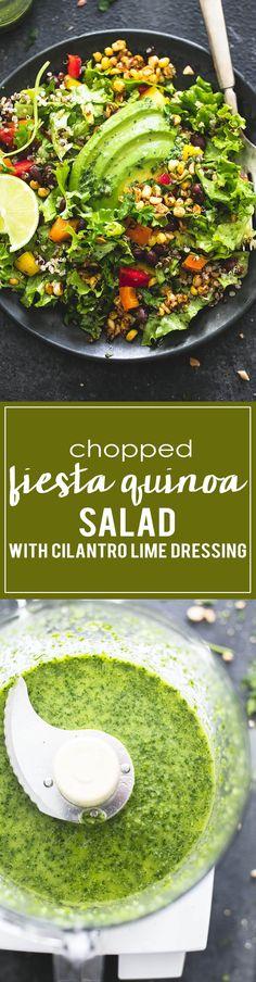 Chopped Fiesta Quinoa Salad | lecremedelacrumb.com