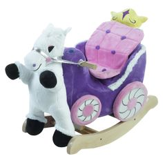 Princess Carriage Play and Rock-lc