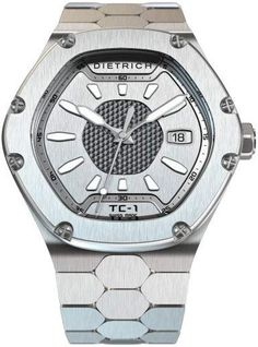 Dietrich Watch TC-1 Plain Silver Pre-Order #add-content #basel-17 #bezel-fixed #bracelet-strap-steel #brand-dietrich #case-depth-mm #case-material-steel #case-width-45mm #date-yes #delivery-timescale-call-us #dial-colour-silver #gender-mens #luxury #movem