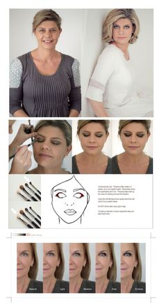 Makeup for 40 plus woman from the blog of renowned boudoir photographer Sue Bryce.