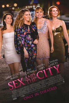 Sex and the City film poster art.