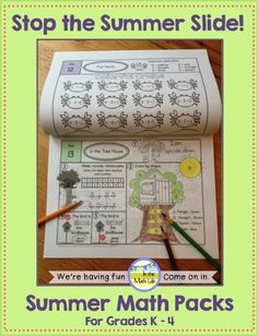 Help your students keep their math skills over the summer. 30 days of Common Core math practice. A different theme each day. Facts practice, too. Lots of coloring and thinking. These packs are just plain fun! Versions available for Grades K - 4.