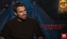 Watch: Theo James explains how Underworld: Blood Wars is all about lycra blood and  sexual
