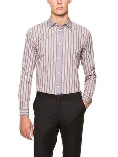 LISTRAS - É a padronagem mais comum do guarda-roupa masculino.