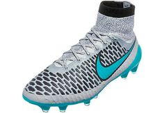 Nike Magista Obra FG Soccer Cleats - Silver Storm