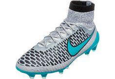 Nike Magista Obra FG Soccer Cleats - Silver Storm