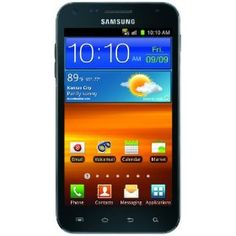 Samsung Galaxy S II Epic Touch 4G Android Phone, Black (Sprint), (case, battery, epic 4g touch)
