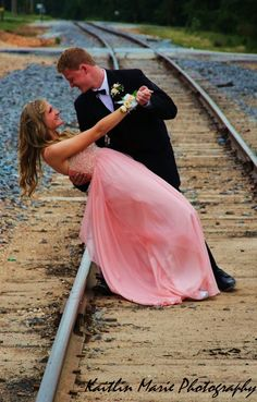 Instead if prom how about a wedding picture like this?
