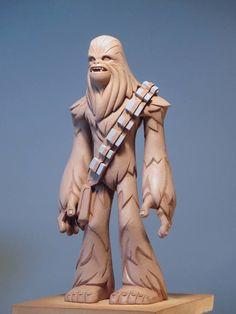 ArtStation - Chewie - Disney Infinity 3.0 Toy Sculpt, Matt Thorup