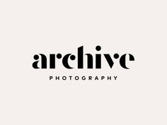 Archive logo by Steve Wolf Designs