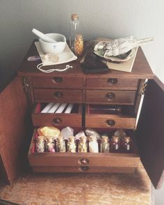 Witches magic cabinet