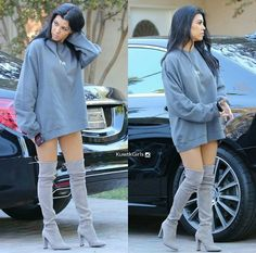another pic of Kourtney Kardashian. her style has been on pointtt
