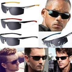 Mens Driving Polarized Lens Fashion Outdoor Sports Sunglasses Eyewear Glasses #UnbrandedGeneric #AviatorSunglasses