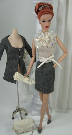 A Frilling Romance for Fashion Royalty Dolls