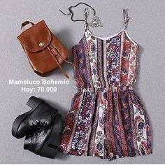 Mono bohemio.  Disponible talla S