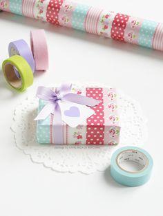 10M nastro Colori Pastello Washi decorativo del nastro DIY 10 rotoli
