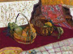 Pierre Bonnard / Deux corbeilles de fruits