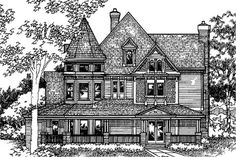 Main image for house plan # 21292  -  https://www.theplancollection.com/house-plans/home-plan-21292
