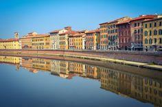 Reflejos...Rio Arno (Pisa - Italy)