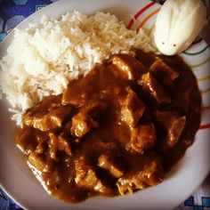 Curry giapponese.
