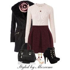 """""""All Set For Her New Job Starting Today!"""" by mozeemo on Polyvore"""