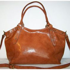 Leather Bag Handbag Tote Shoulder Cross Body Bag by chicleather/ on Etsy