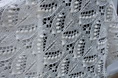 Knitting Patterns Lace All Knitted Lace: Free Estonian Lace Pattern - Silvia - June Entry Tunisian Crochet Patterns, Lace Knitting Patterns, Knitting Stiches, Knitting Charts, Lace Patterns, Free Knitting, Stitch Patterns, Knit Stitches, Knitting Machine