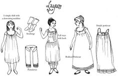 """Undressing the Regency Lady"". Blog post on appropriate undergarments for Regency-period costumes."