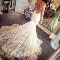 glam wedding dress