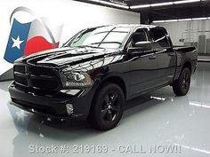 nice 2014 Dodge Ram 1500 RAM TRIPLE BLACK EXPRESS CREW HEMI 4X4 - For Sale