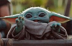 """""""I'm just an empty void waiting to be filled"""". - - """"I'm just an empty void waiting to be filled""""… Awwwww """"I'm just an empty void waiting to be filled""""… Yoda Gif, Yoda Meme, Yoda Funny, Yoda Pictures, Baby Animals, Cute Animals, Cuadros Star Wars, Images Star Wars, Image Film"""