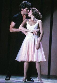 1980s vintage patrick swayze jennifer grey dirty dancing