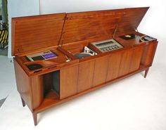 high end audio equipment - High End Audio Equipment For Sale - Vintage Stereo Cabinet, Record Cabinet, Radios, Consoles, Record Player Console, Record Players, Mid Century Console, Audio Room, Equipment For Sale