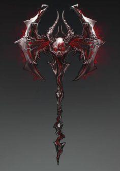 Ninja Weapons, Anime Weapons, Sci Fi Weapons, Weapon Concept Art, Dark Fantasy Art, Final Fantasy, Armas Ninja, Cool Swords, Fantasy Sword