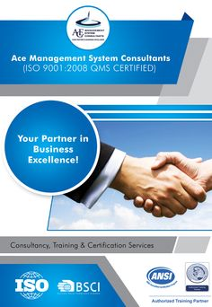 Ace Management System Consultants is one of the leading ISO 9001 Consultants& Trainer in Pakistan and offer services to clients in Pakistan, UAE, AFGHANISTAN , IRAQ, SAUDIA ARABIA  & Rest of World .
