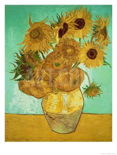 Sunflowers, c.1888 Giclee Print by Vincent van Gogh at Art.com