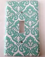 light switch covers teal - Google Search