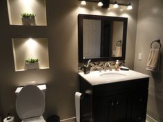 Most Popular Small Bathroom Designs On a Budget 2019 Small bath ideas; home decor on budget; Bathroom Design Small, Modern Bathroom, Master Bathroom, Bathroom Designs, Unisex Bathroom, Bathroom Makeovers On A Budget, Budget Bathroom, Bathroom Ideas, Bathroom Pics