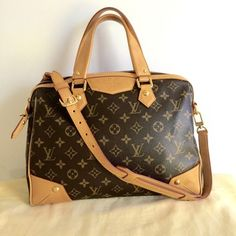 Louis Vuitton Brown Bag - Satchel.