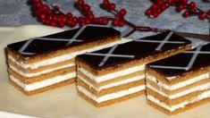 Medové rezy Tiramisu, Rum, Waffles, Cheesecake, Breakfast, Ethnic Recipes, Desserts, Food, Basket