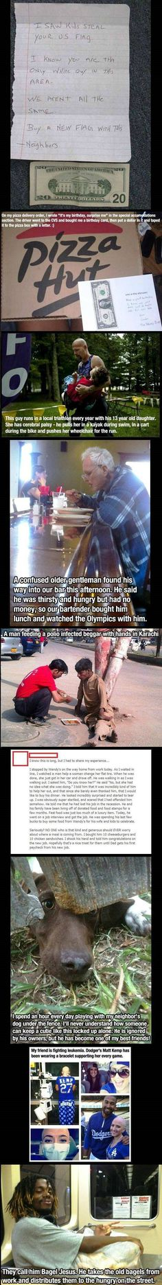 Faith In humanity=restored (at least for a little bit) Just Dream, Just Love, Just In Case, Let It Be, We Are The World, In This World, I Smile, Make Me Smile, Gives Me Hope