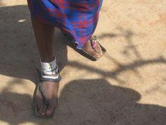 Buty z opony, czyli w wiosce Masajów / Tire shoes or a day at Masai Village