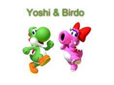 5. Yoshi and Birdo. by FictionDreamer94.deviantart.com on @DeviantArt